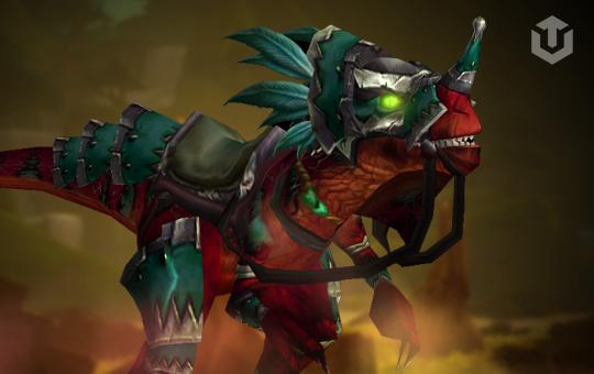Armored Razzashi Raptor