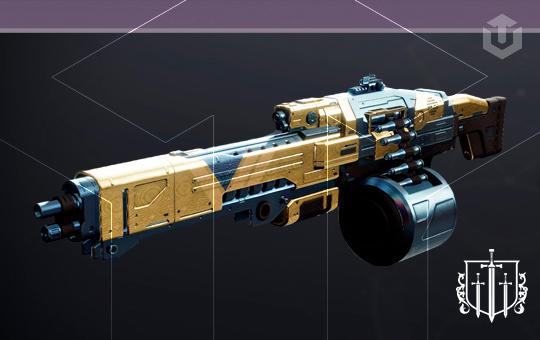 Adept the SWARM  Machine Gun